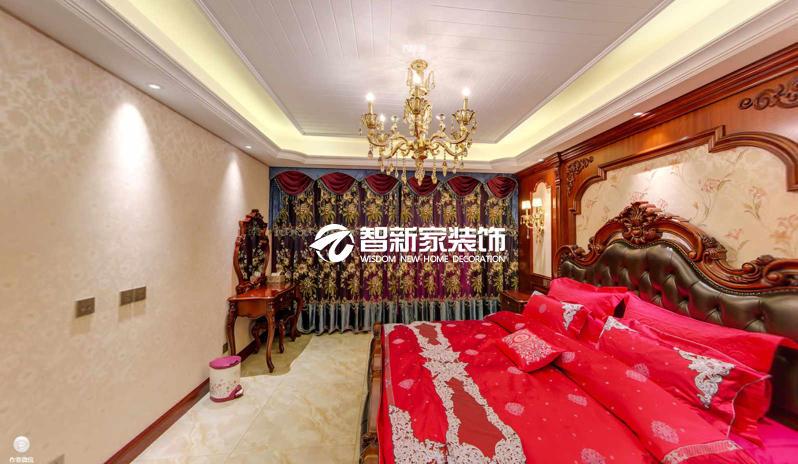 哈尔滨别墅装修效果图 140米 高大上 豪华欧式风格