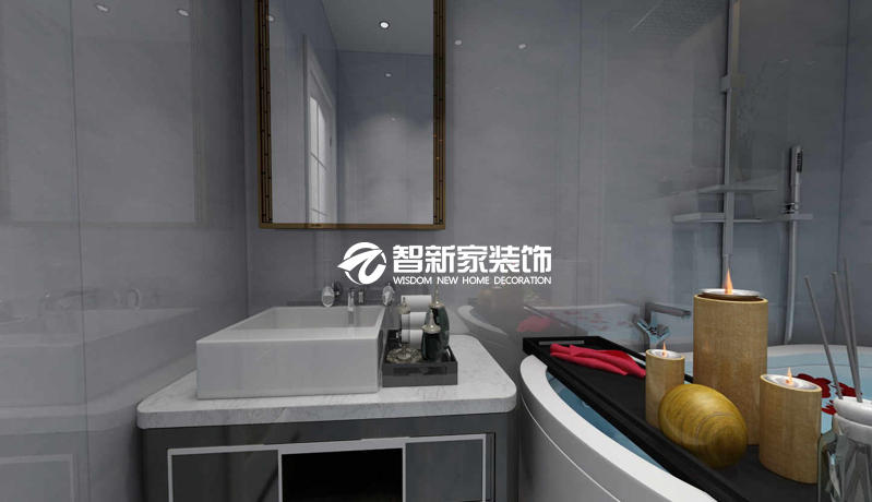 哈尔滨局部装修效果图 卧室 卫生间装修案例