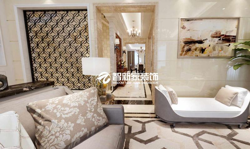 哈尔滨 玫瑰湾 200平米 中式风格装修效果图