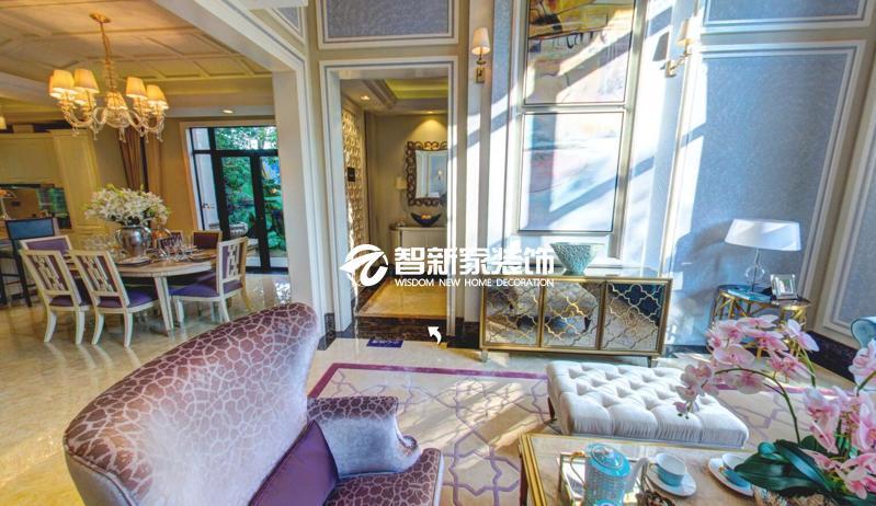 哈尔滨 东方新天地 loft 多色彩混搭风格装修效果图