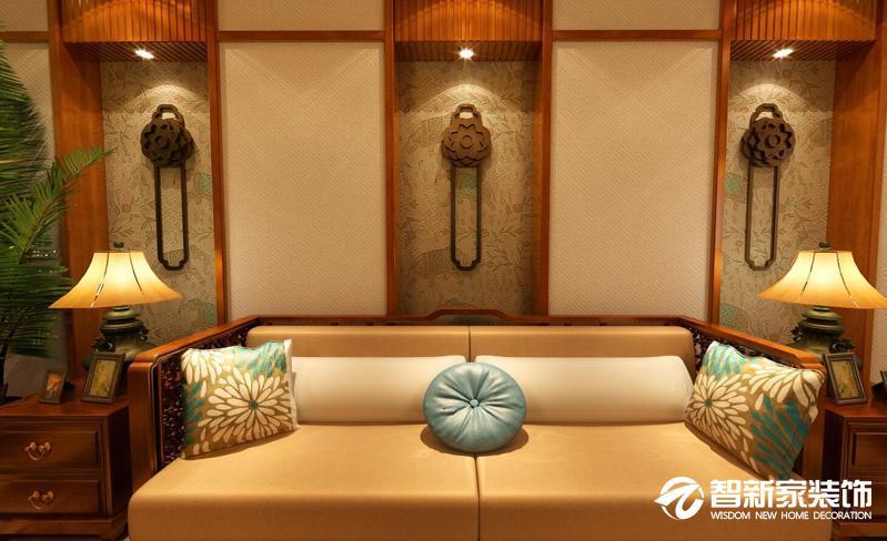 哈尔滨420平米别墅中式古典风格设计案例