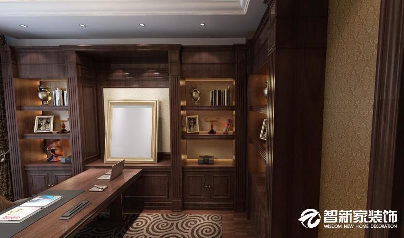 哈尔滨局部装修之书房装修效果图