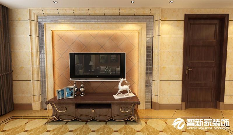 哈尔滨 玫瑰湾 133平米 欧式风格装修案例