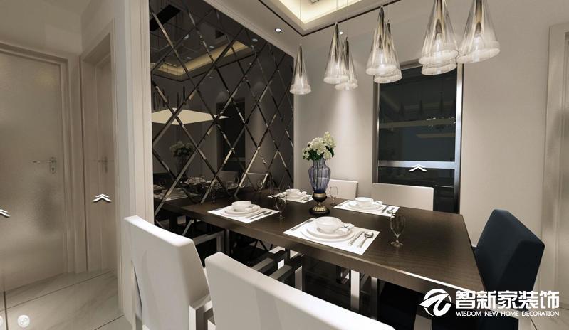 哈尔滨南岗区鲁商凤凰城115米现代简约风格装修案例