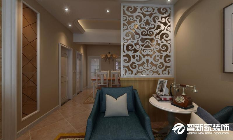 哈尔滨南岗区悦城50米现代简约风格装修案例