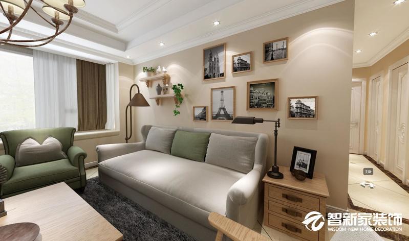 哈尔滨哈西辰能溪树庭院 124米 欧式风格装修效果图