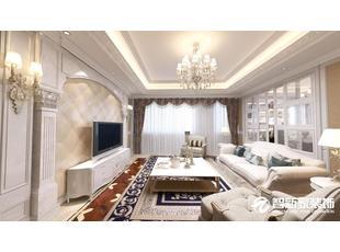 哈尔滨 骏赫城 125平米 简欧风格装修案例