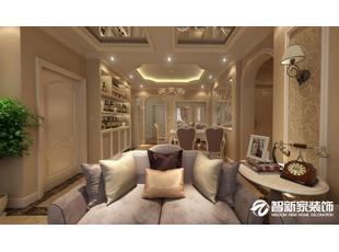 哈尔滨南岗区锦绣华城 120米欧式风格装修案例