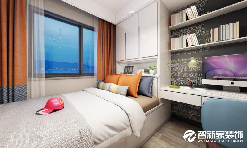 哈尔滨 恒祥城三期 85平米 现代简约风格装修效果图