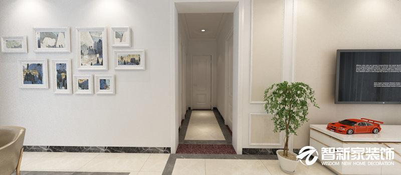 哈尔滨保利清华颐园 70平米 现代简约风格装修效果图