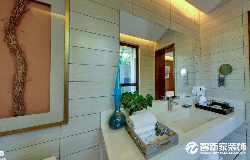 哈尔滨中海雍景熙岸 80平米 东南亚风格装修实拍