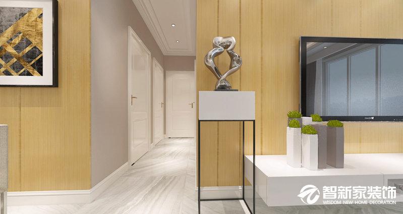 哈尔滨 阳光家园 66平米 现代简约风格装修效果图