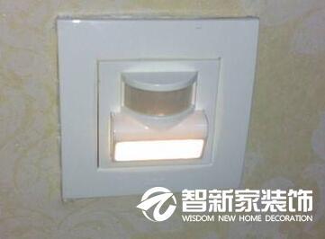 提高生活品质的装修装饰好物推荐-墙角感应灯