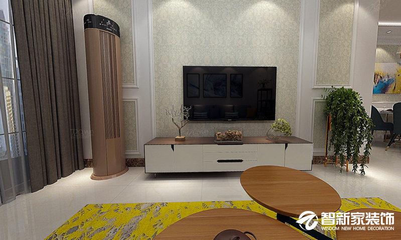 哈尔滨 群力家园 139米 现代中式风格装修效果图