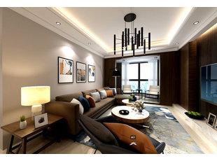 哈尔滨星光耀一期191平米大气现代风格装修设计效果图