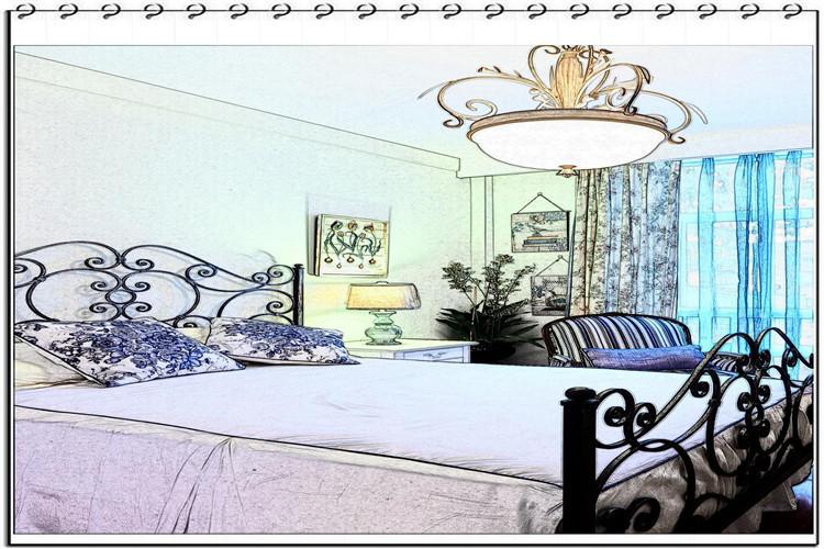 哈尔滨装修中如何选择客厅装饰灯?