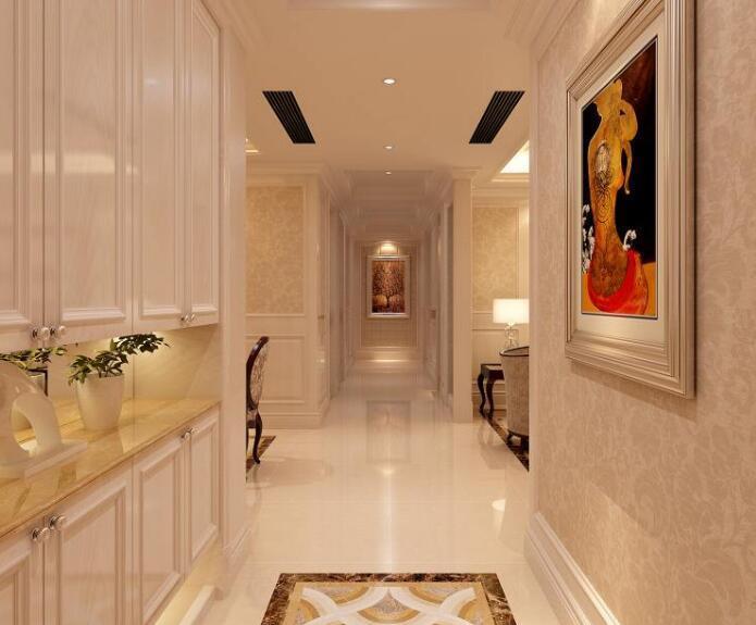 如何装修出让人眼前一亮的大气走廊