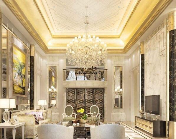 哈尔滨别墅装修中不需要花钱的地方-水晶灯