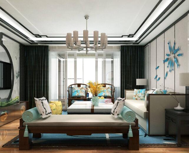 新中式客厅的装修要点