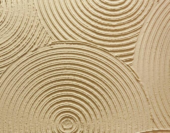哈尔滨装修施工硅藻泥背景墙施工