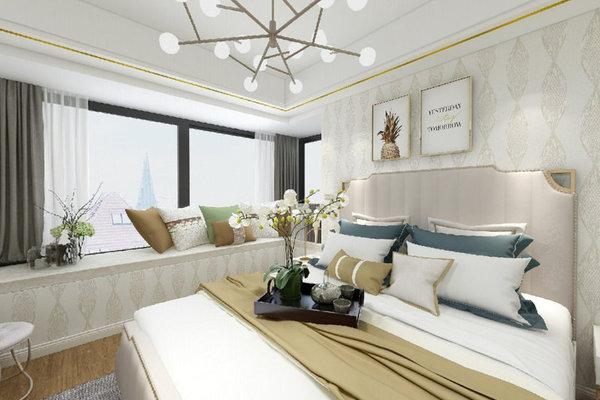 哈尔滨格兰云天65米两室一厅现代简约风格