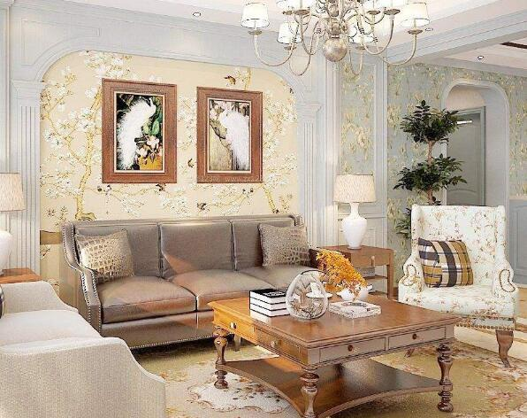 装饰房子如何搭配壁纸与窗帘-颜色