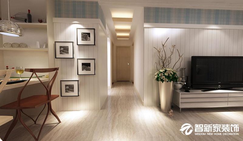 哈尔滨 民生尚都 80米 现代简约风格装修案例
