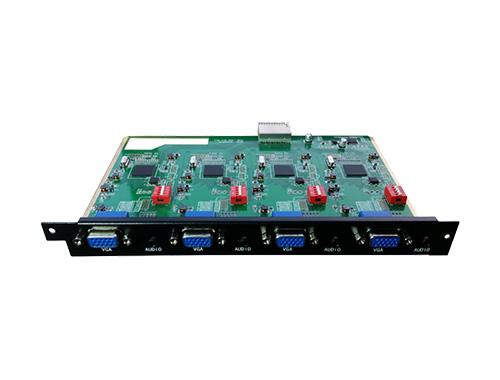 无缝切换4路VGA输出卡