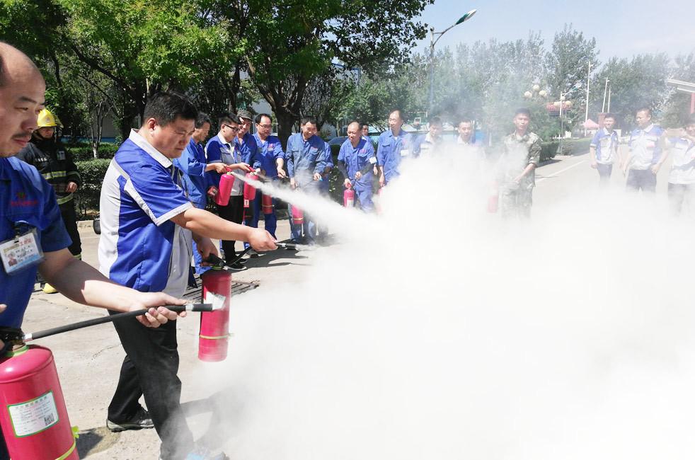消防安全演习