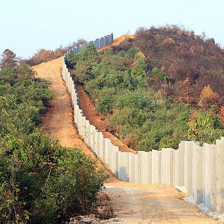 轻质隔墙板围墙工程