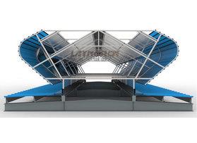 LN-Q-5型通风气楼(敞开型)