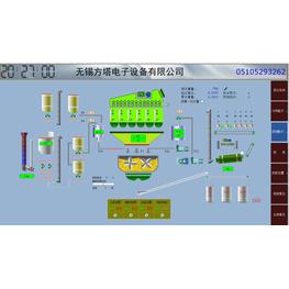 沥青控制设备软件界面