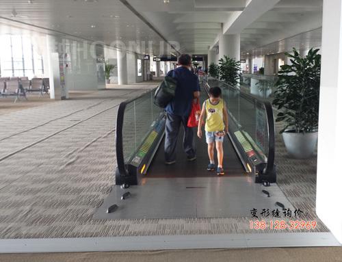 浦东机场地面变形缝2