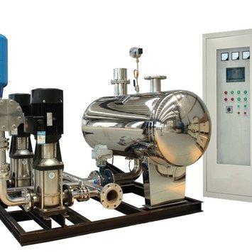 管网叠压(无负压)变频供水系统