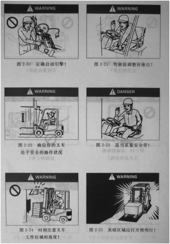 叉车安全规程