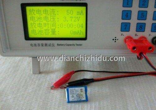 锂电池充电测试和过电流测试现场