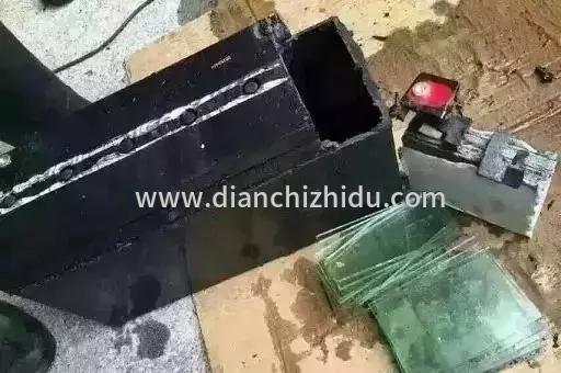 用玻璃石头做的电动车假电池怎么用呀