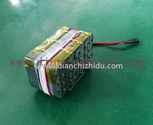 24V18650锂电池组装接线图