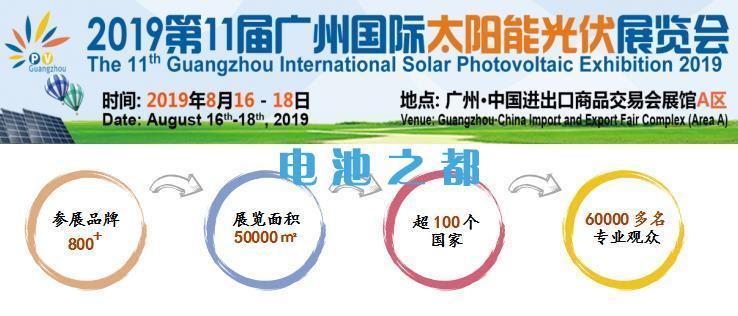 2019广州国际太阳能光伏展览会