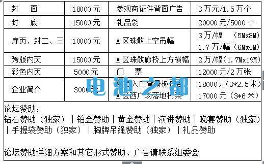 2019广州国际太阳能光伏展览会相关广告费用介绍
