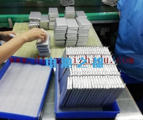 锂聚合物电池厂家电芯生产线
