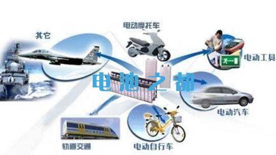 动力电池的应用分类