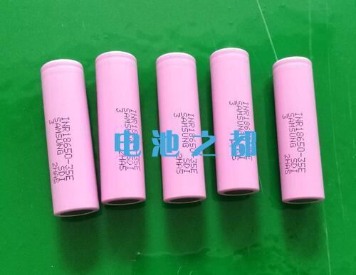 三星进口18650锂电池的命名规则是这样的