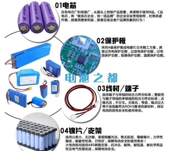 18650锂电池正确使用串并联设计的结构设计图