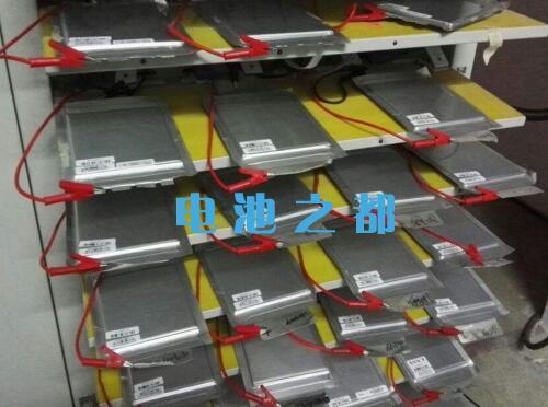 聚合物电池充电激活测试