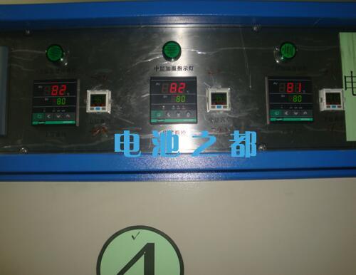 锂电芯烘烤温度参数设置温度85±5度