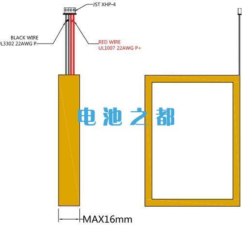 聚合物锂电池定制时输出端子线设计要描述清楚