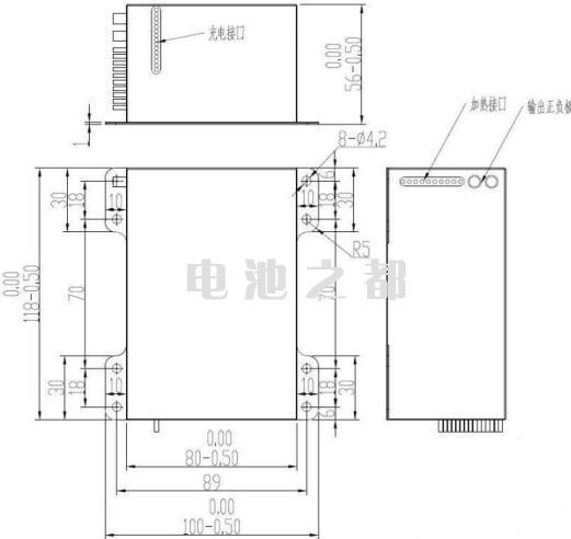 对低温锂电池生产厂家的PACK低温设计尺寸要求