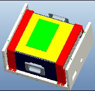 36V40Ah锂电池结构示意图