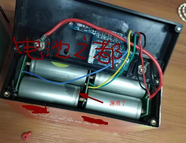 电动车电池竟然用沃特玛电芯组装还漏液真是气死人了